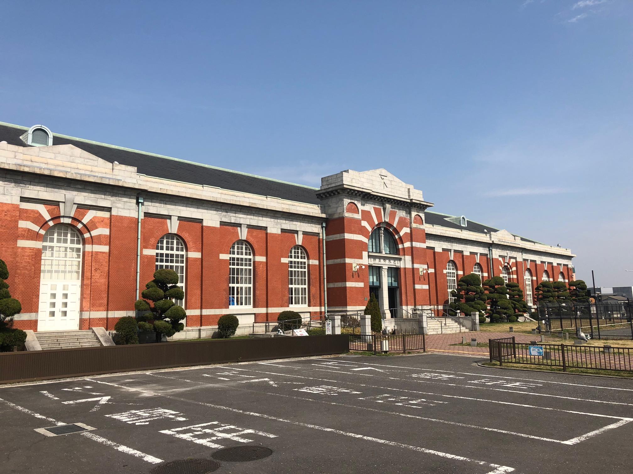 <p>水道記念館全景</p>