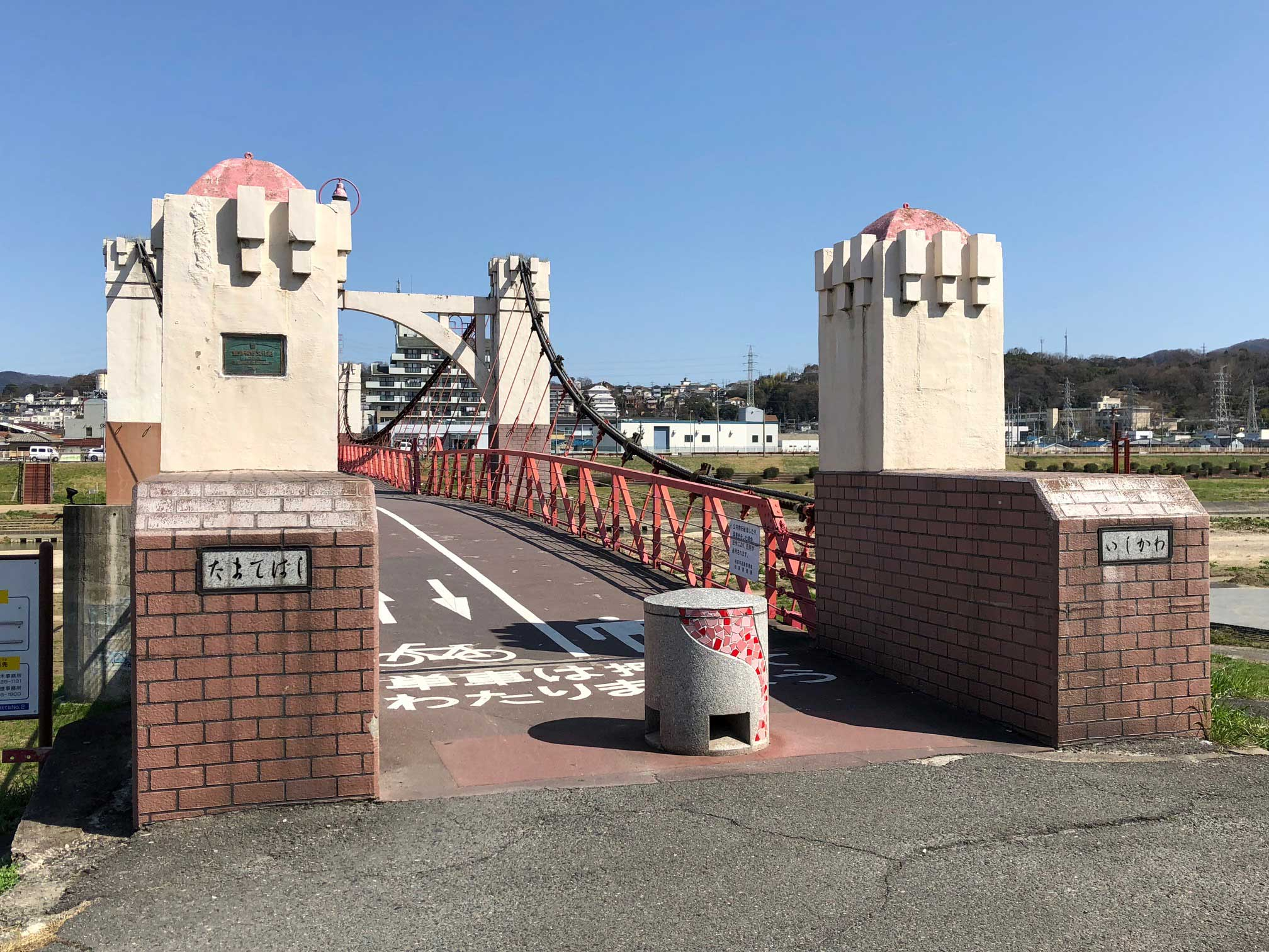 <p>藤井寺市側から撮影</p>