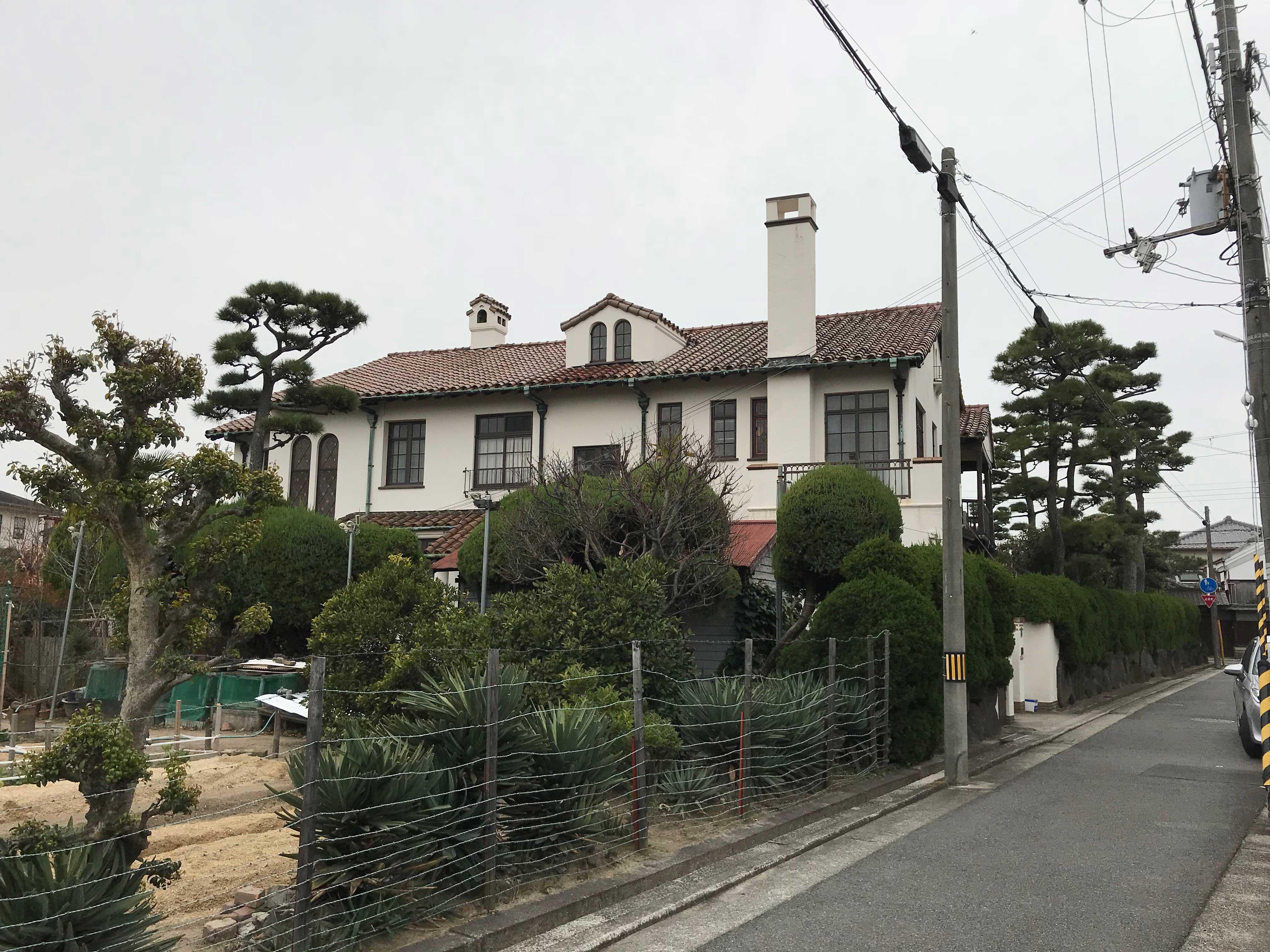 <p>近江岸家住宅-3</p>北側