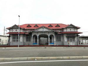 南海本線浜寺公園駅駅舎